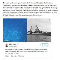 <ポール・アレン氏>フィリピン沖で米重巡洋艦発見