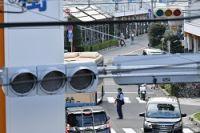 <停電>大阪・吹田市などで一時3万4千軒 信号機も消える