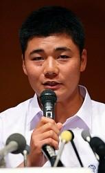 <高校野球>清宮選手、プロ志望を表明「868本打ちたい」