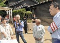 <台風18号>「災害は府の設計ミス」知事に住民訴え 京都