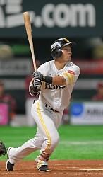 <プロ野球CS>意地を込めた決勝弾 ソフトバンク・中村晃