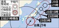 <台風21号>首都圏通勤ラッシュ直撃しダイヤに乱れの恐れ