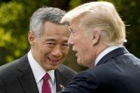 <シンガポール首相>「米中関係は良好に」トランプ氏にクギ