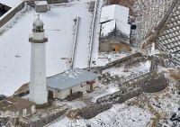 <海保>松前小島灯台も被害500万円「なぜこんなことを」