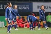 <サッカー>日本女子、北朝鮮に力負け E−1選手権