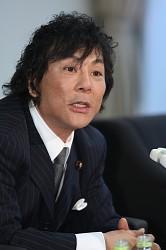 <大仁田厚氏>立候補を表明 4月の佐賀・神埼市長選