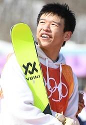 <五輪スキー>山本「すごく楽しかった」 男子スロープS