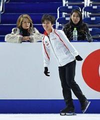 <五輪フィギュア>宇野を指導の山田コーチ「抱きしめたい」