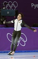 <五輪スケート>小平、しなやかに終盤加速