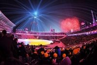 <平昌五輪>閉会式はじまる 日本は冬季最多のメダル13個