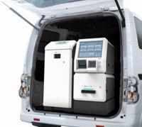 OKI、車で行けるとこならどこでもATMを届けられる「モジュール型ATM」発売