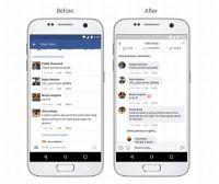 FacebookとInstagram、コメントのスレッド表示などUIの視認性を高める変更