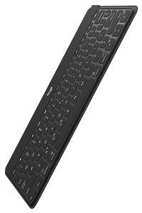ロジクール、厚さ6mmの超薄型ポータブルキーボード「iK1042BKA」を発売