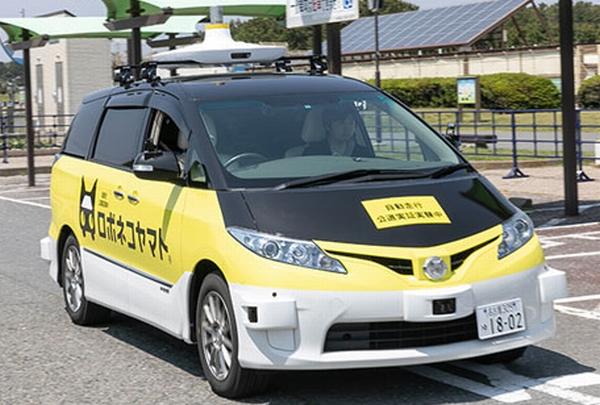 ヤマト運輸、自動運転車で「ロボネコヤマト」の配送を実証実験。いずれは無人・AIの形を目指す