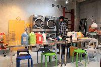 洗濯+お茶で980円、「喫茶ランドリー」の不思議な引力