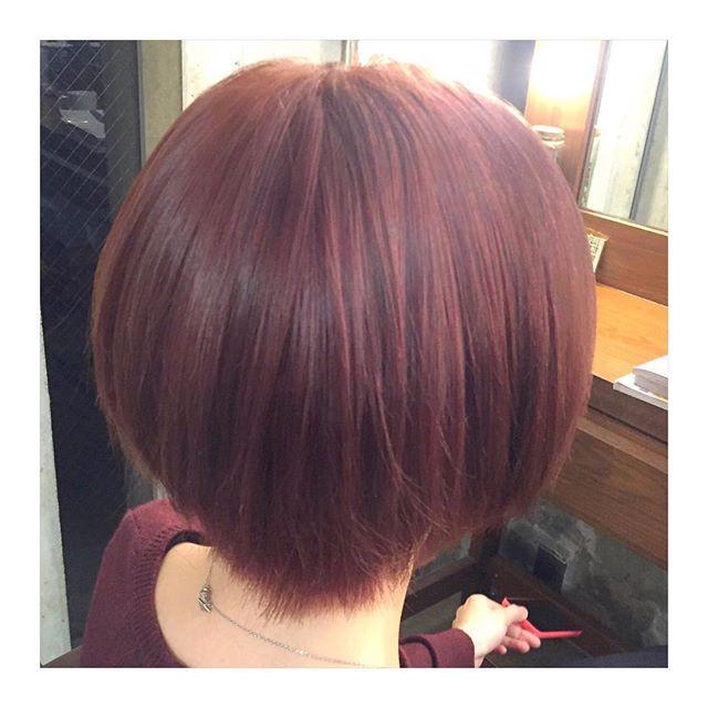 マルサラカラー でおしゃ見え確実 秋冬にぴったりの大人可愛いヘアカラー特集 ローリエプレス