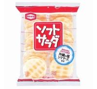 亀田製菓「ソフトサラダ」に金属線が混入