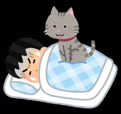 ビク なる て っ いる て 寝 時に