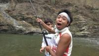 サンシャイン池崎、キャラ崩壊の危機 怪魚を釣る過酷ロケでスタッフと修羅場