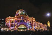 世界遺産を幻想的に 豪・メルボルンで光とアートのイベント開催