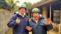 唐沢寿明、出川哲朗と電動バイクでノーアポ、ガチンコ旅に参戦