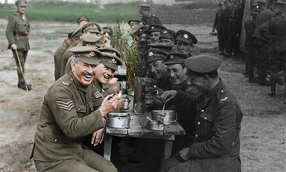 第一次世界大戦の映像を3Dカラー化 映画「彼らは生きていた」2020年1月公開