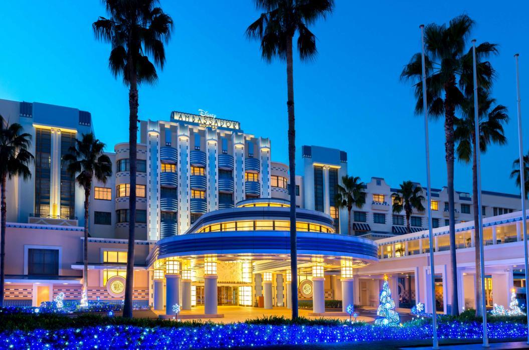 【イルミ2016】ディズニーアンバサダーホテルの ...