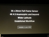 ソニー、フルフレーム36x24mmセンサー採用の次世代CineAltaカメラ開発を明らかに