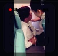 【動画】泥酔した韓国のボンボン、CAの髪つかみ暴れる、見かねた米歌手がロープで縛り付ける
