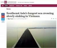 日本が建設のベトナム海上橋に問題、技術は中国に及ばないか?―中国メディア