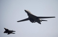 空自の戦闘機と米空軍の爆撃機、九州周辺で共同訓練