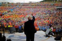 米大統領のボーイスカウト大会での政治的発言、連盟長が謝罪