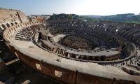 ローマのコロッセオ最上階席、40年ぶりに公開
