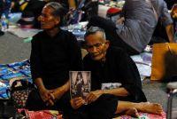 タイで前国王火葬行事のリハーサル、すでに涙する見物人も