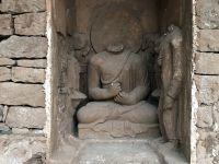 パキスタンで1700年前の涅槃仏の一部公開、観光促進の狙いも