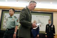 中国軍トップ、台湾や南シナ海での米国の「誤った」行動を批判