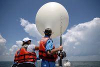 ヘリウム風船から皆既日食をネット中継、米NASAや大学が協力