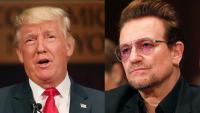 U2ボノが警告:「トランプを選んだりしたらアメリカ史上最悪の事態」