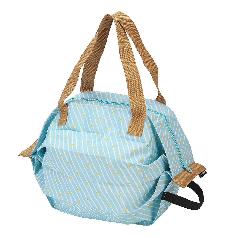 71ce2b912d08 保冷バッグなのにシュパッとたためてコンパクトに! 持ち運びも身軽で、暑い日のお買い物も安心だな〜 (2019年4月19日) - エキサイトニュース