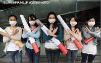 禁煙でクリーンな社会に…マスク姿で呼びかけ=安徽