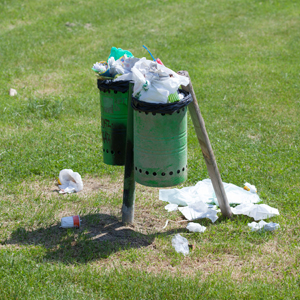 信じられない!中国人が公園にゴミ投げ捨て? 中国では当惑の声も