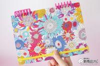 『カレンダー手帳』卓上カレンダー+システム手帳=見やすくて持ち歩きやすい!
