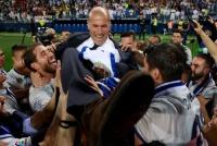 ジダン監督、レアル史上2人目の快挙…選手と監督、両方の立場でCL&リーガ制覇