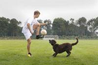 """アルゼンチンリーグに""""可愛いお客""""が乱入…ボールで遊ぶ姿が愛しいと話題に"""