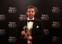 39歳ブッフォンがFIFA最優秀GKに輝く…「素晴らしい勝利でサッカーを終えたい」