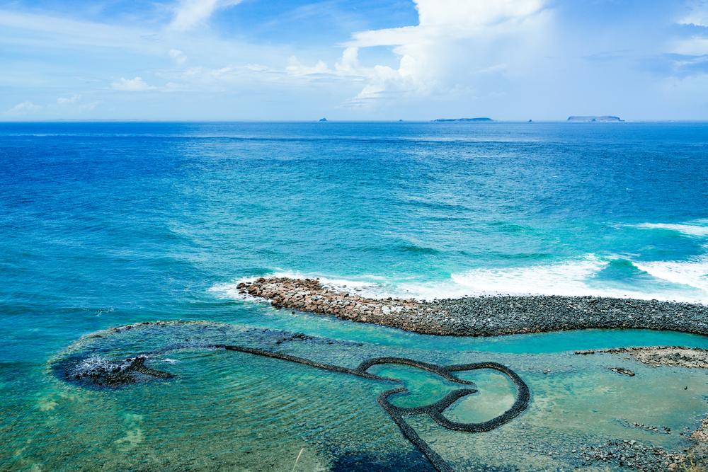 ダブルハートに小台湾!台湾・澎湖の小島「七美」の絶景 ...