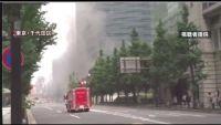 東京・千代田区 建設中のビルで火事、けが人なし