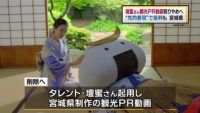 宮城県、壇蜜さん出演の観光PR動画 取りやめへ
