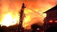ミャンマーの高級ホテルで火災、日本人男性含む2人死亡