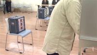 台風接近、全国109か所で衆院選繰り上げ投票